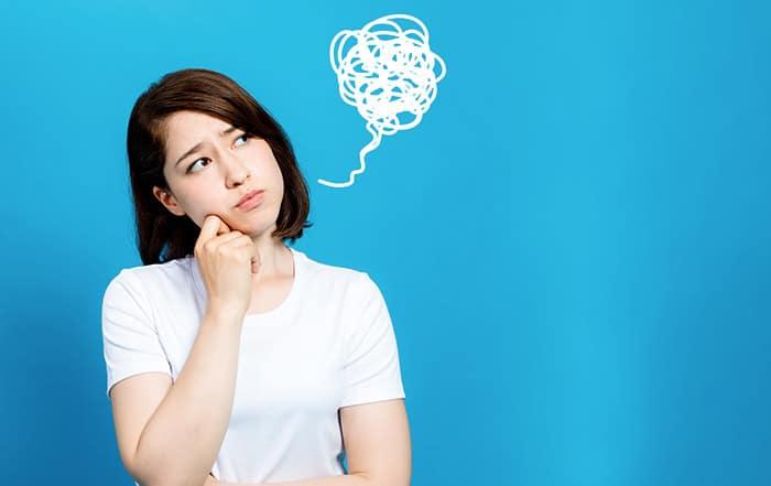 Frau mit Frustwolke | Frust verstehen, Frust abbauen, Frust überwinden | Reset Your Head