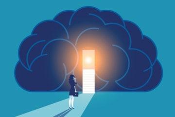 Gehirn mit geöffneter Tür zur Veränderung | Audio Hypnose | Reset Your Head