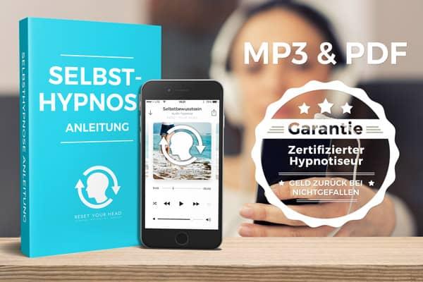 PDF und MP3 | Geld-zurück-Garantie | Selbstbewusstsein stärken durch Hypnose | Reset Your Head